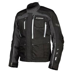 KLIM Sample Carlsbad Adventure Motorcycle Jacket Men's Large - Stealth Black