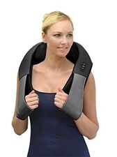 ComfySure Shiatsu Electric Shoulder And Neck Massager Pad With Heat Handheld