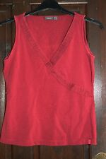 Dark Red Top from Mexx size Lrage L 12-14