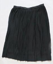 Next Women`s Pleat Skirts Black Size 8