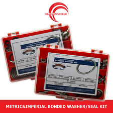 Metric&Imperial Bonded Washer/Seal Kit Self Centering - [SET OF 2] Various Sizes