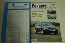 Revue technique l'expert automobile 504 Renault laguna II phase II 03/2005>09/07