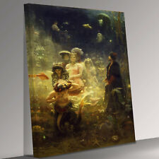 More details for ilya repin sadko canvas wall art picture print