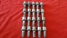 (20) MERCEDES FACTORY OEM LUG BOLTS  CLS500 CLS550 E350 E500 SL500 SL550