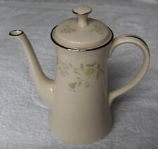 Gorham Fine China PASTELLE dinnerware pattern coffeepot~retired~Pristine-NR