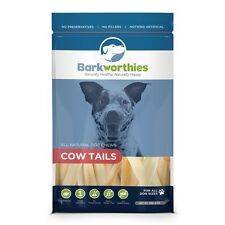 Barkworthies COW TAILS Dog Treat 6 oz Pkg 100% Natural