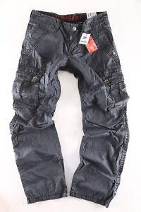 Timezone Herren Jeans Cargo Worker Hose Harris 9033 blue ähnlich Benito