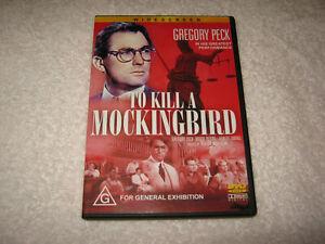 To Kill A Mockingbird - Gregory Peck - VGC - DVD - R4