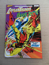 Captain Thunder and Blue Bolt 3 . Origin Capt.Thunder - Hero Comics 1987 - VF -