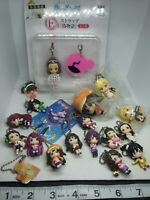 19pc Bakemonogatari figure keychain strap charm kawaii Japan anime lot