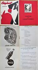 Paris, France 1940s Theatre Program: Comedie des Champs-Elysees' w/Advertising