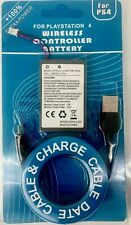 2000mAh Rechargeable Battery + USB Charger Cable For PS4 Controller - ORIGINAL