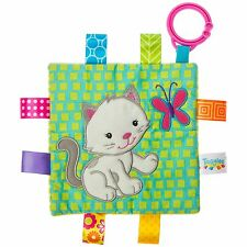 TAGGIES Crinkle Me Kitten Colourful Crinkle Soother Buggy/Stroller Toy