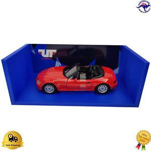 Diecast Model Car 1:18 BMW Z3 Roadster Red UT Models Unique Toys Boxed