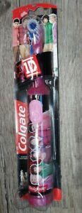 One Direction 1D Colgate MaxFresh Power Toothbrush Rare NIP! FREE SHIPPING!