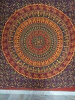 Mandala Tapestry Bohemian Wall Hanging Ethnic Indian Bedspread Hippie Dorm Decor