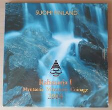 Finland / Suomi Rahasarja 2004 BU set 1 cent / 2 euro munt  - Uitbreiding EU