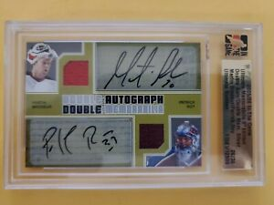 Patrick Roy Autograph & Martin Brodeur Auto Numbered 26/34 Dual Auto Jersey