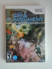 Sin and Punishment: Star Successor Game New & Sealed! Nintendo Wii