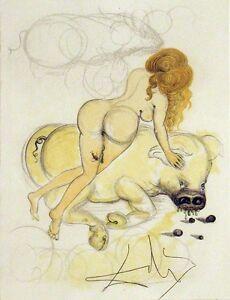 Salvador Dali, Original Engraving from Illustre Casanova suite MAKE AN OFFER!