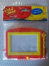 Etch A Sketch Doodle Red Yellow Draw and Slide Erase Travel Drawing Toy