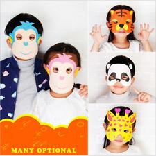 12pcs Mask Birthday Party EVA Foam Animal Masks Cartoon Kids Party Costume New