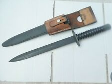 Swiss Sig Model 1957 Dagger Special Forces Commando Scabbard and Frog