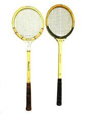 Vintage Bancroft Frs Wilson Staff Fiberglass Reinforced Steel Squash Rackets