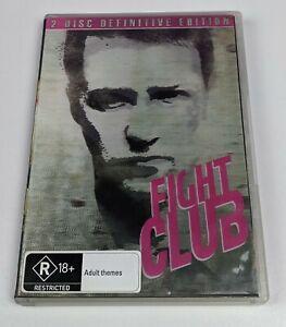 Fight Club: Definitive Edition - Genuine Region 4 DVD Lenticular Cover