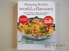 SLIMMING WORLD WORLD OF FLAVOURS 120 RECIPES-ORIGINAL GREEN & EE SYN VALUES