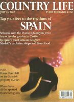 Country Life Jul 2002 SPAIN POSTIGO HOUSE MADRID MORTALLA ANDALUCIA OSBORNE BULL