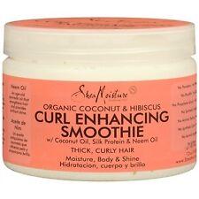Shea Moisture Organic Coconut & Hibiscus Curl Enhancing Smoothie 12 oz 340 g