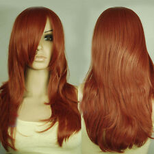 USJF842  charming copper Red Layer health hair Wig wigs for women