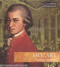 MOZART - Prodige Musical (French 11 Tk CD Album/Book) (Les Grands Compositeurs)