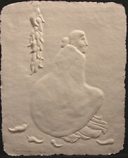 R.C. Gorman Aunt Etta SN Paper Cast Embossing Art Signed Limited Ed SUBMIT OFFER