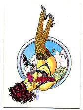 STEVE WORON's Female Fantasy - Chase Card C1 - Peek-A-Boo