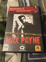 Max Payne (Sony PlayStation 2, 2001) Complete