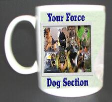 POLICE DOG HANDLER MUG PERSONALISED,ADD ANY NAME,PHOTO