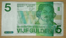 The Netherlands: 5 Dutch Gulden banknote since 1973 in VF Condition. 4814586783