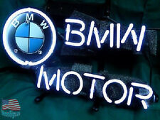 "BMW Motor Car Auto Dealer Store Neon Sign 17""x14"" From USA"