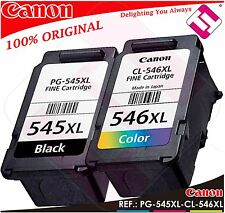 PACK TINTA CANON PG 545 XL CL 546 XL NEGRA COLOR ORIGINAL CARTUCHO PG-545 CL-546