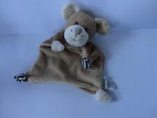 Sterntaler Schmusetuch Maus oder Hund in Braun ca.18 cm. mit Rasselfunkion