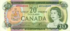 Canada P-89 20 dollars 1969 XF