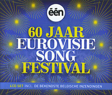 60 jaar Eurovisie Song Festival / 60 years of Eurovision Song Contest (4 CD)