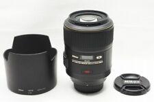 Nikon AF-S VR MICRO NIKKOR 105mm F2.8G IF ED Lens for F Mount w/ Hood #211008l