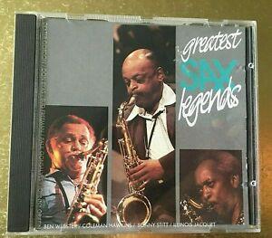 Various – Greatest Sax Legends  Jazz Life – 267304 CD New