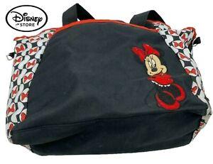Disney Baby Minnie Mouse Bag  Black White & Red Shoulder Purse Disney Baby.