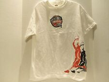 VINTAGE N.B.A. HALL OF FAME T-SHIRT (MED) BASKETBALL- RARE