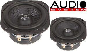 Audio System Ex 80 Sq Evo 80 MM High End Deep/mid-Range/Midrange 1 Pair