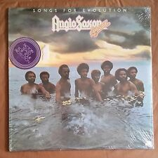 Anglo Saxon Brown - Songs For Evolution - NEW LP Vinyl Record SEALED